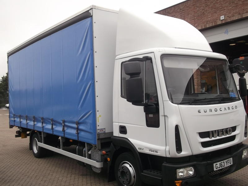 2014 '14' IVECO EUROCARGO 7.5T C/SIDER