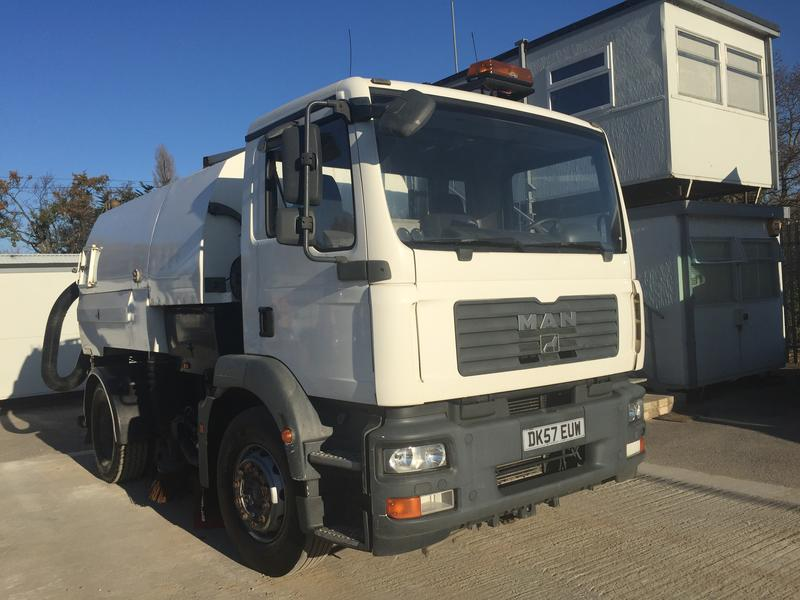 MAN Road Sweeper | Commercial Motor