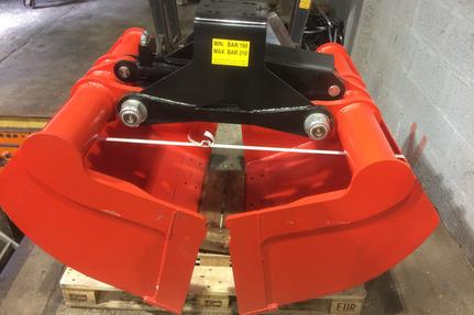 **New Stock in Now** Brand new Kinshofer style Grab bucket 500L heavy duty.