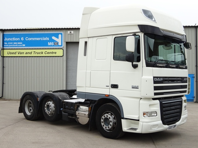 2007,07 reg Daf FTG XF105.460 SuperSpace 6x2 Tractor Unit