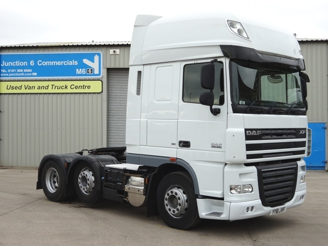 2011,61 reg Daf FTG XF105.460 SuperSpace Cab 6x2 Tractor Unit