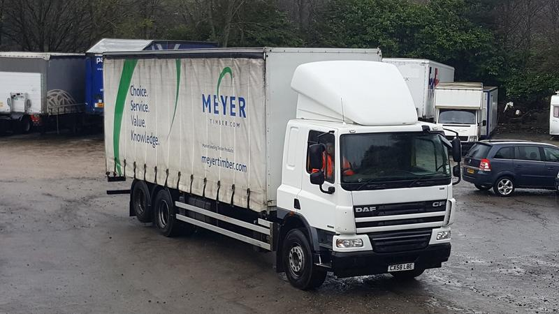 2008 DAF - CF75-31 - 6x2 REAR LIFT 29ft
