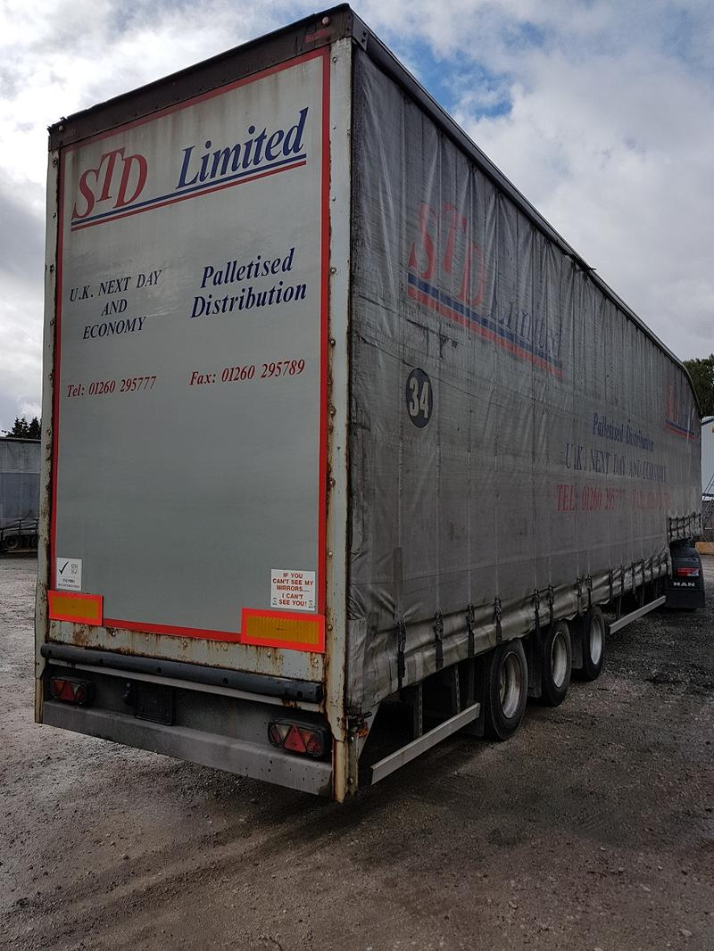 SDC - 2008 - Tri - Axle 45ft Double Deck Curtainsider