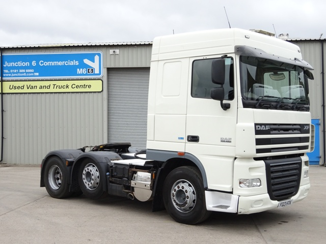 2013,13 reg Daf FTG XF105.460 ATe Spacecab 6x2 Tractor Unit