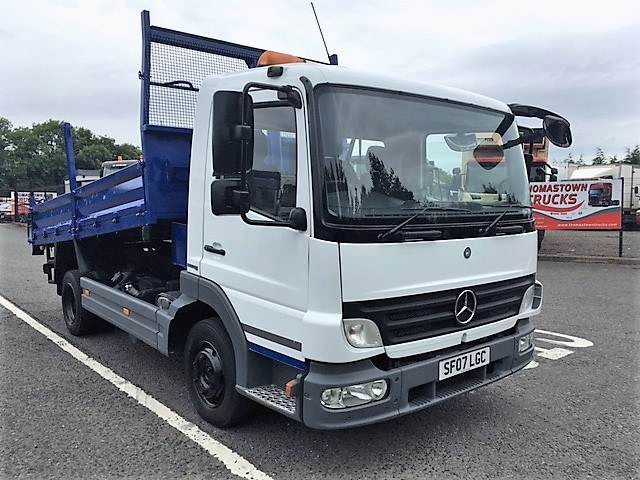 Mercedes benz trucks atego 2007 1467081 commercial for Mercedes benz commercial trucks
