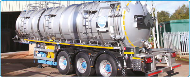 From non-hazardous to full ADR, our stainless steel 30,000 litre tankers are efficient, robust and flexible.- FOR RENT