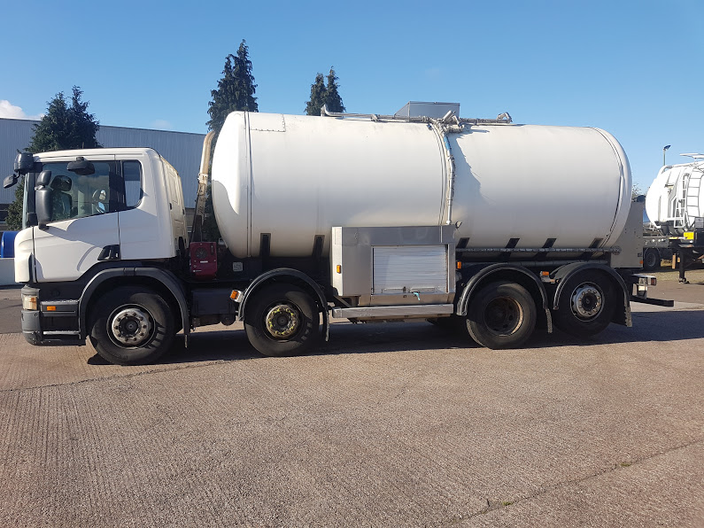 Scania Milk Collection Tanker