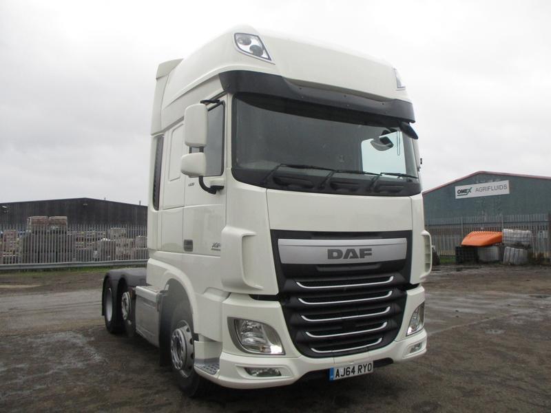 2014 (64) DAF FTGXF-460 Super Space Cab FIRST CHOICE
