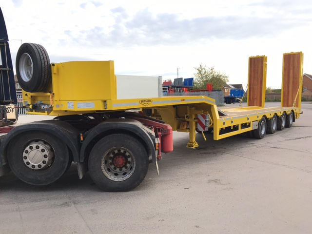 2017 Broshuis 4 axle Plant Trailers