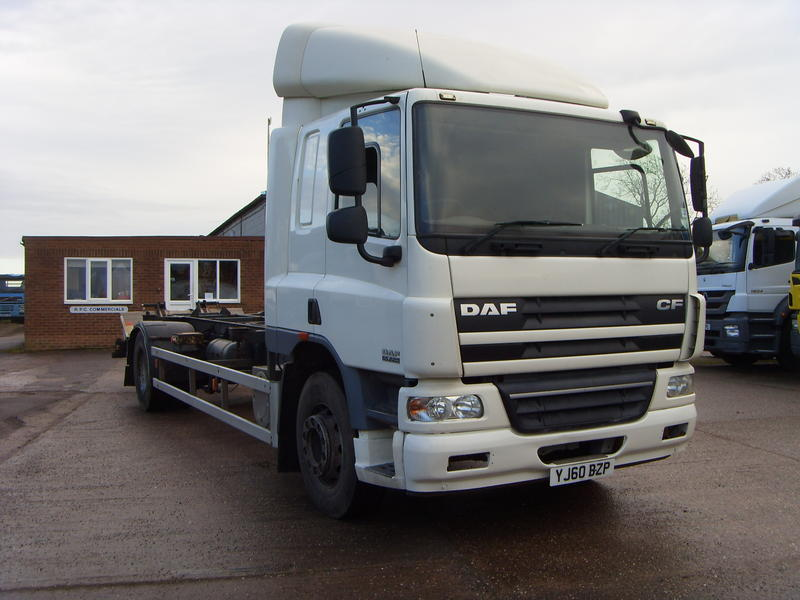 DAF - CF65 - 2010, 21ft 8inch, Demount Body Truck