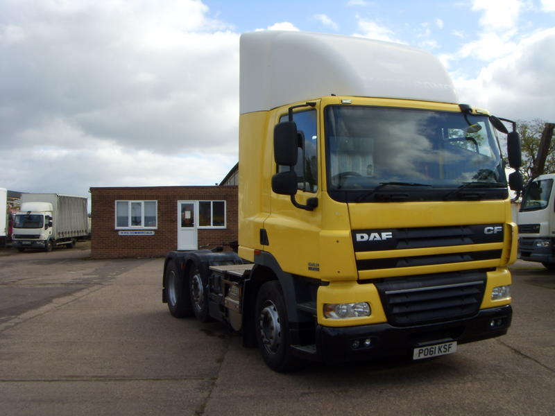 DAF - CF85-410, 2011, Euro 5, Midlift Axle, Automatic Gearbox