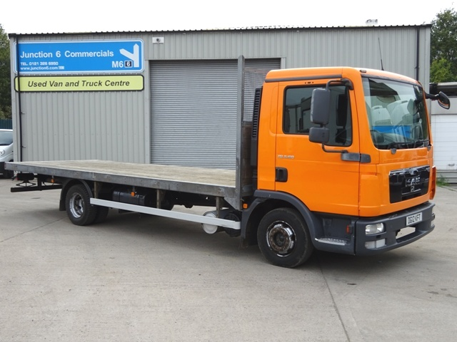 2012,12 Reg MAN TGL 8.180 21 Foot Flatbed