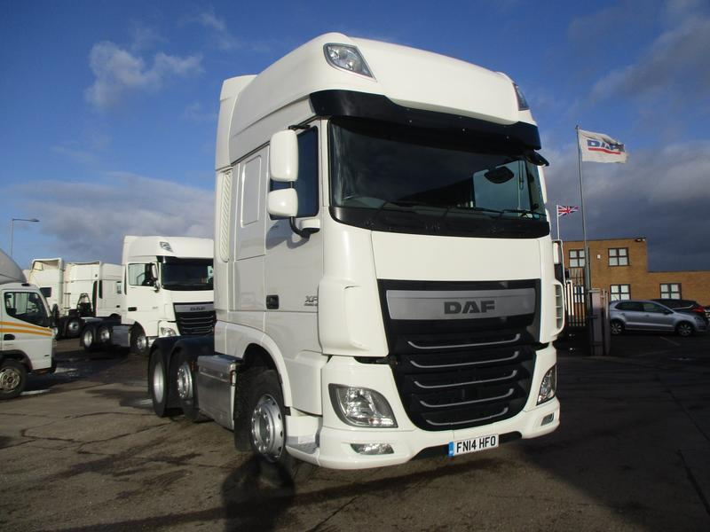 2014 (14) DAF FTGXF-460 Super Space Cab FIRST CHOICE
