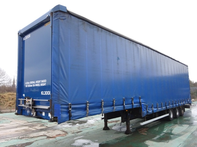 2005 Lawrence David 13.7m Triaxle Stepframe Double Deck Curtainside Trailer