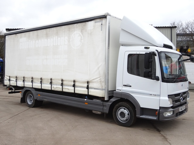 2013,13 reg Mercedes-Benz Atego 816 21 Foot Curtain c/w Taillift