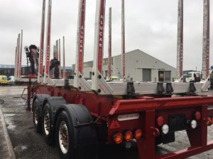 2012 MONTRACON 42FT TIMBER TRAILER