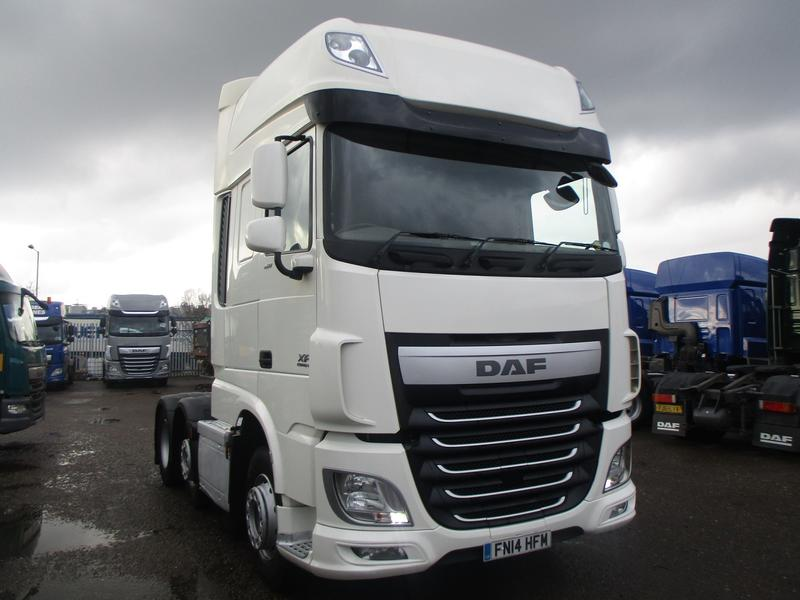 2014 (14) DAF FTGXF-460 E6 Super Space Cab