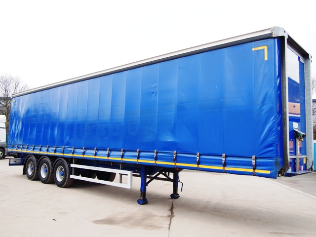 2014 Montracon 13.6m Triaxle Curtainside Trailer