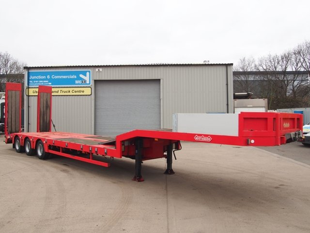 2002 Nooteboom OSD-48-03 Triaxle Extending Lowloader Trailer