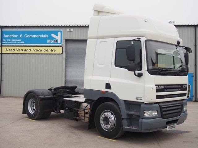 2012,12 reg DAF FT CF85.410 Spacecab 4x2 Tractor Unit