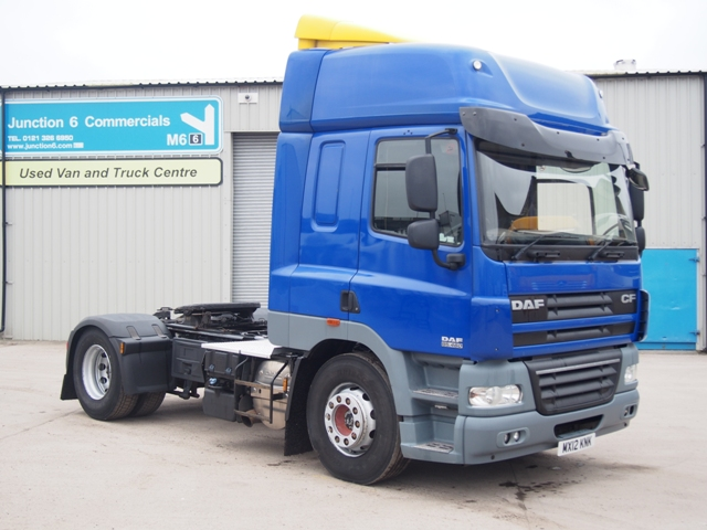 2012,12 reg DAF FT CF85.460 Spacecab 4x2 Tractor Unit