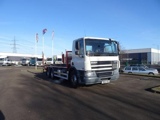 2011 (61) CF 75.310 6×2 23ft CHASSIS CAB