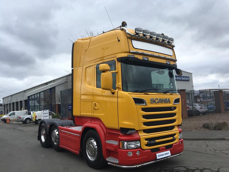 2015 Scania R Series 520HP 6X2/4 Topline