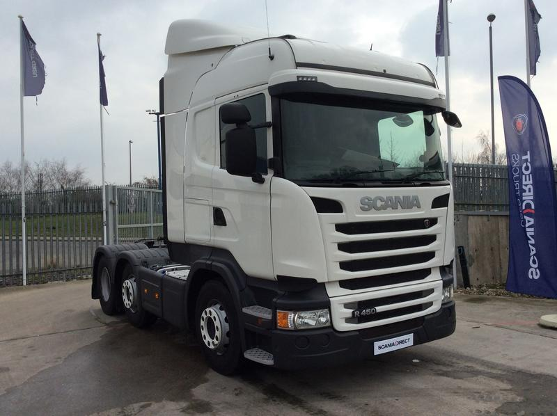 2014 Scania R Series 450HP 6X2/4 High Roof Sleeper