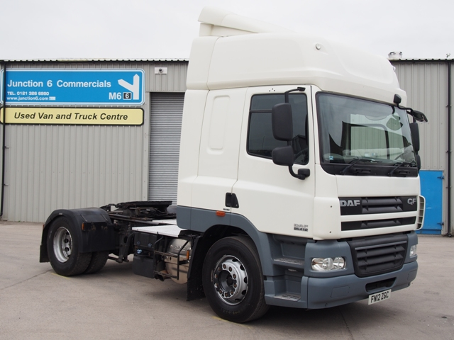 2012,12 reg Daf FT CF85.410 Sleeper 4x2 Tractor Unit