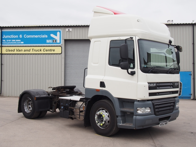 2013,62 reg DAF FT CF85.410 Spacecab 4x2 Tractor Unit
