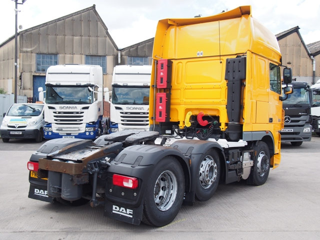 2012,62 reg DAF XF105.460 Superspace 6x2 Tractor Unit