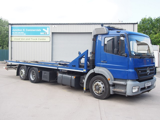 2005,05 reg Mercedes-Benz Axor 2528LL Tilt and Slide Car Transporter
