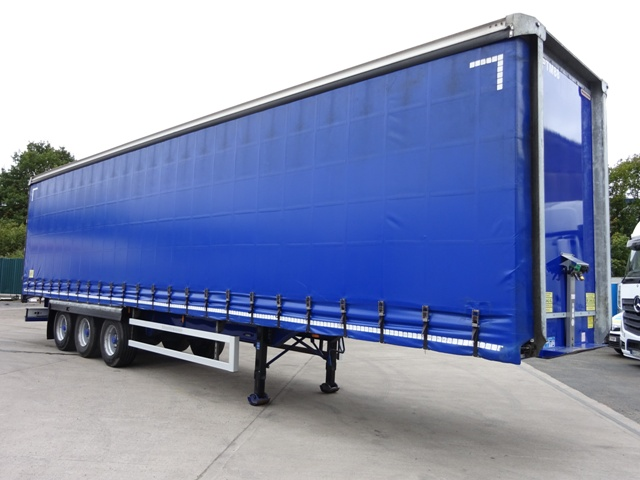 2014 Montracon ENXL Rated 13.6m Triaxle Curtainside Trailer