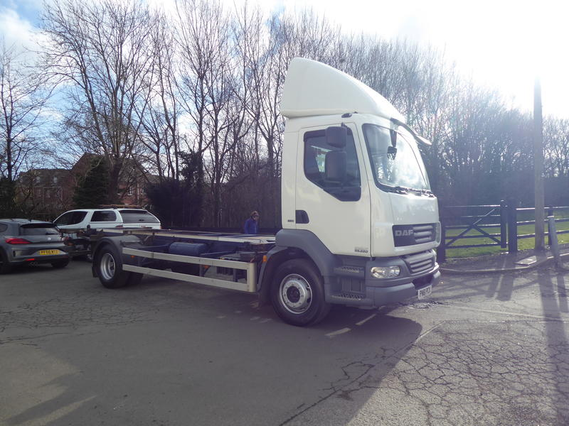 2011 (61) DAF LF55-220 15T CHASSIS