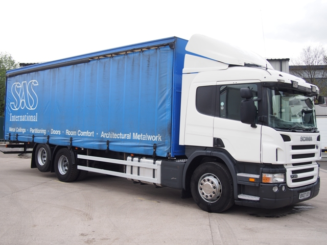 2007,07 reg Scania P310 Sleeper 29 Foot 6ins Curtain