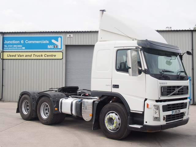 2010 Volvo FM420 Sleeper 6x4 Tractor Unit