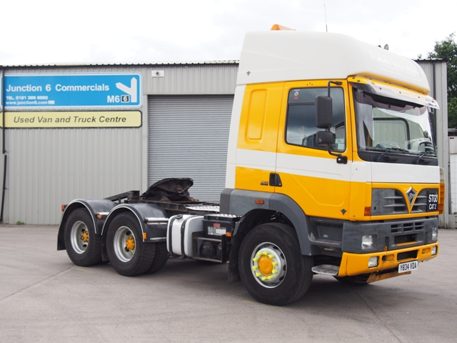 2001 Foden Alpha S106T 6x4 Double Drive Tractor Unit