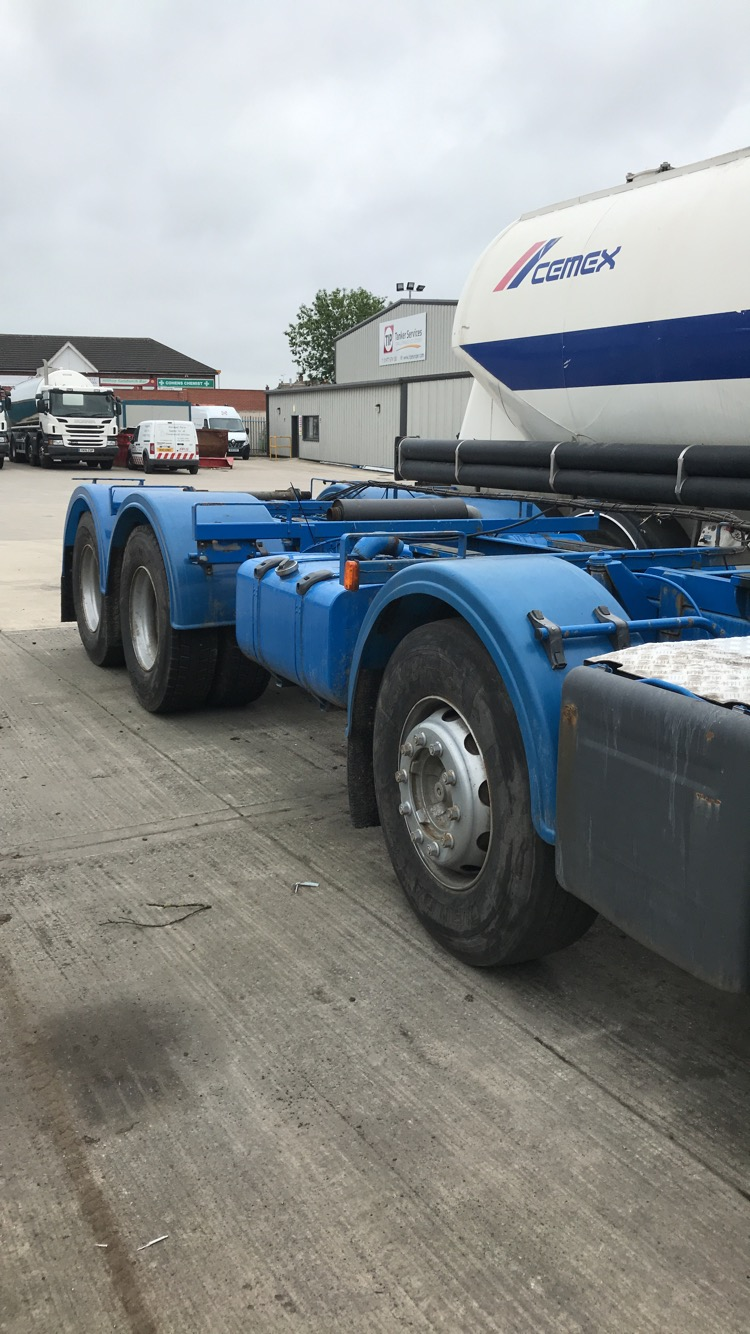Chassis and Cab 8x4