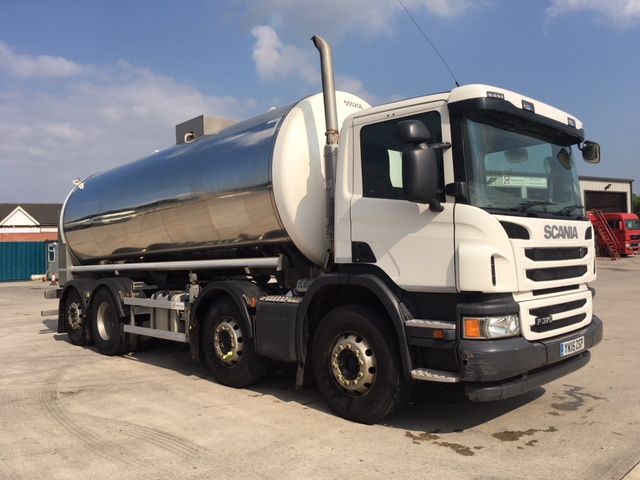 Scania Milk Collection Truck