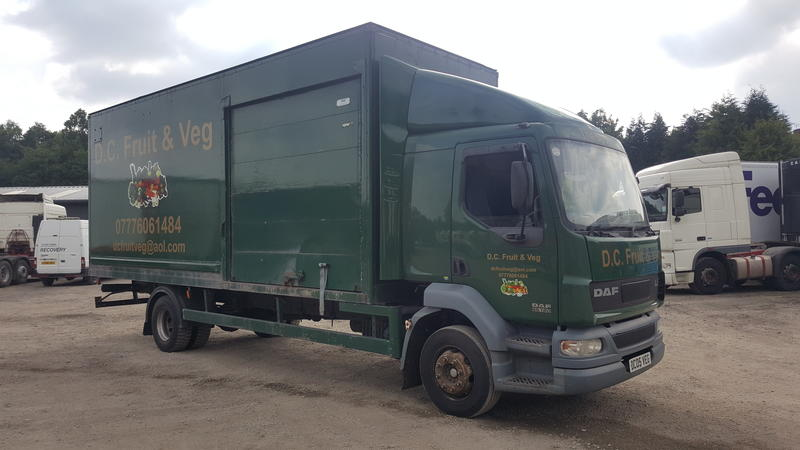 2005 DAF LF 55.180 sleeper cab