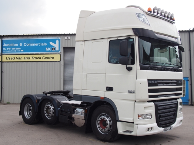 2010,60 reg DAF FTG XF105.510 SuperSpace 6x2 Tractor Unit