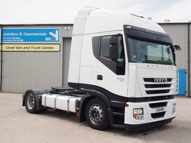 2010,10 reg Iveco Stralis 450 4x2 Low Height Tractor Unit