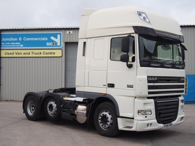 2009,09 reg DAF FTG XF105.460 SuperSpace 6x2 Tractor Unit