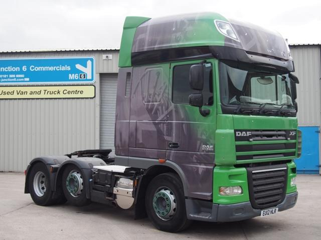 2012,12 reg DAF FTG XF105.510 SuperSpace 6x2 Tractor Unit