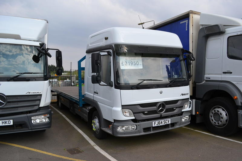 Mercedes-Benz Trucks - Atego - 2014