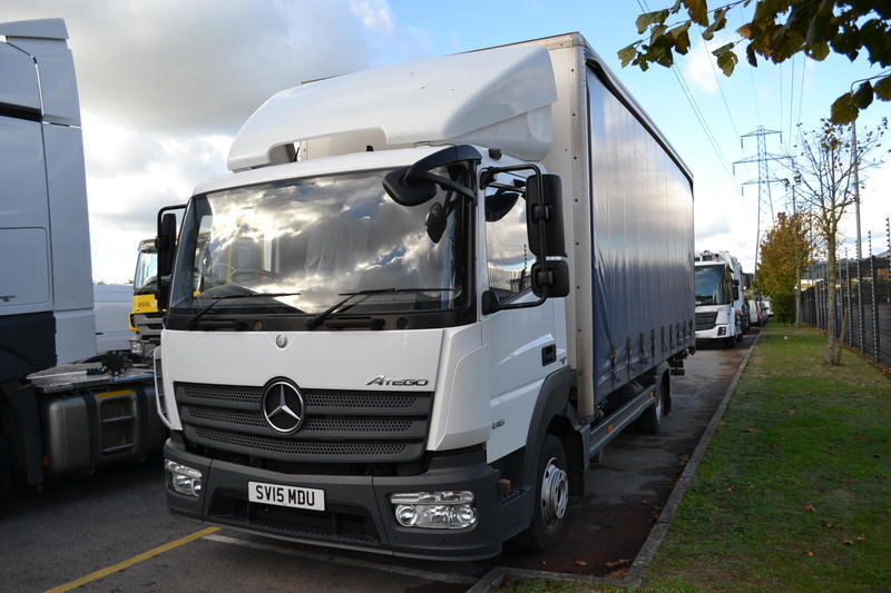 Mercedes-Benz Trucks - Atego - 2015