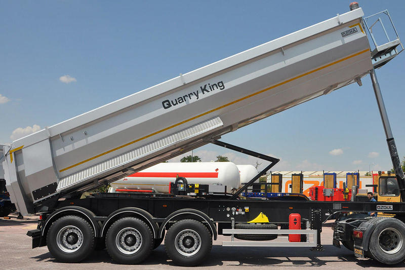 NEW OZGUL HEAVY DUTY HARDOX HALFPIPE TIPPING TRAILER