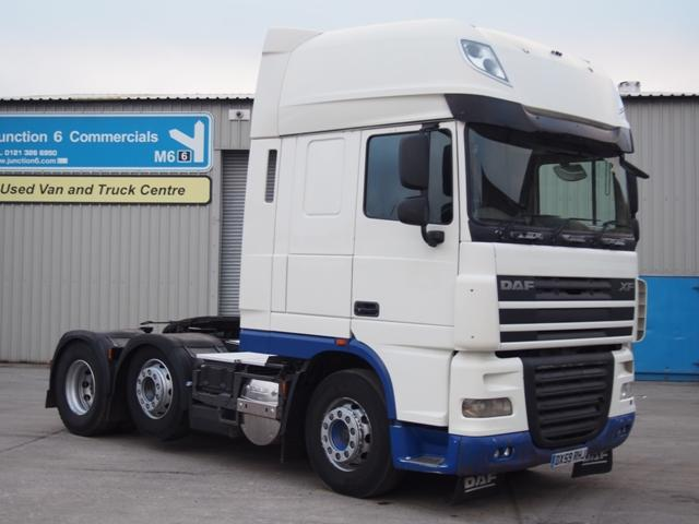 2010,59 reg DAF FTG XF105.460 SuperSpace 6x2 Tractor Unit