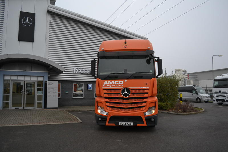 Mercedes-Benz Trucks - Actros - 2013