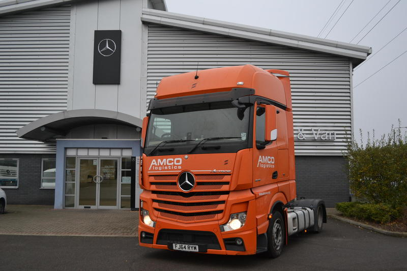 Mercedes-Benz Trucks - Actros - 2014
